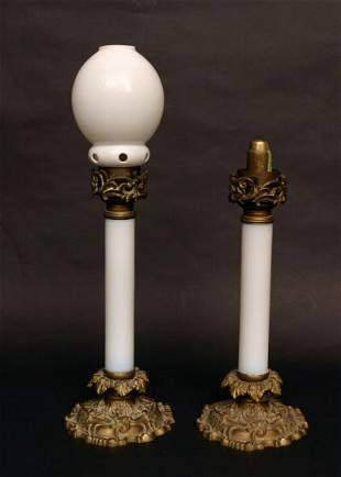 Pair of Vintage Buffet Lamps