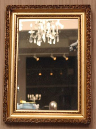 15: Gilt Framed Mirror