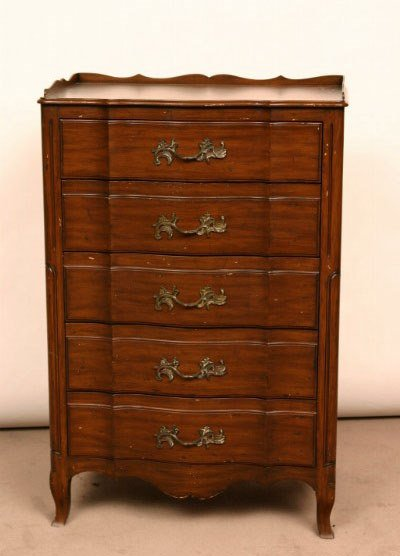 22: French Provincial Style Dresser