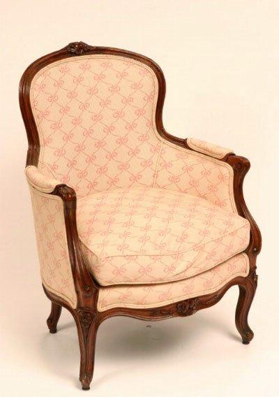 23: Louis XV Style Arm Chair, 18th c.