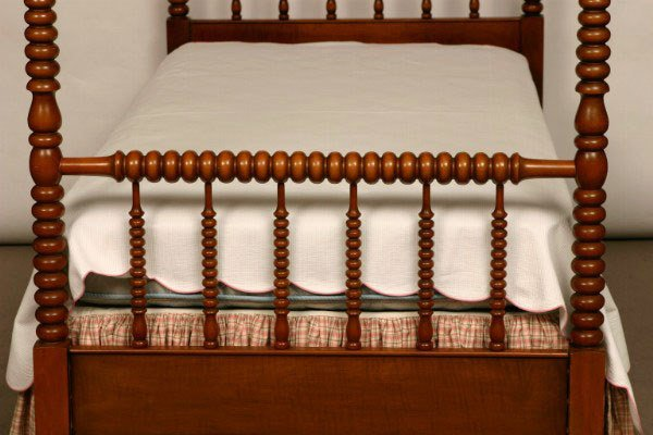 100: Pair of Maple Jenny Lind Twin Beds - 5