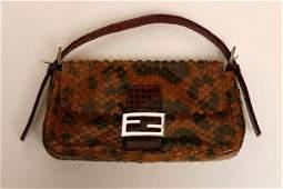 332 Fendi Reptile Skin Bag