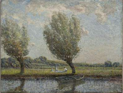 1: Impressionist Landscape, 19thc.