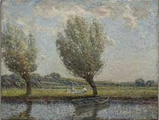 Impressionist Landscape, 19thc.