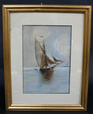 Edith Townsend Painting