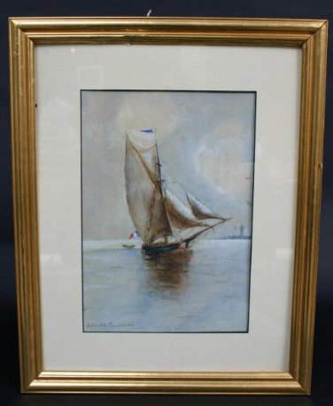 4: Edith Townsend Painting