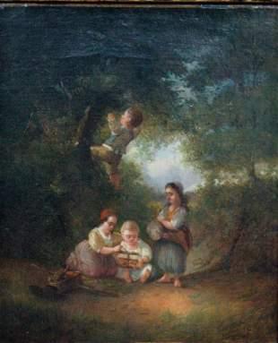 Marie ten Kate Painting, 19th c.