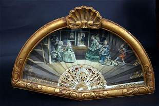Antique Fan after Velasquez
