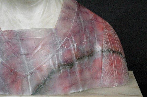 19: Marble Beatrice Sculpture Prof. G. Besji - 4