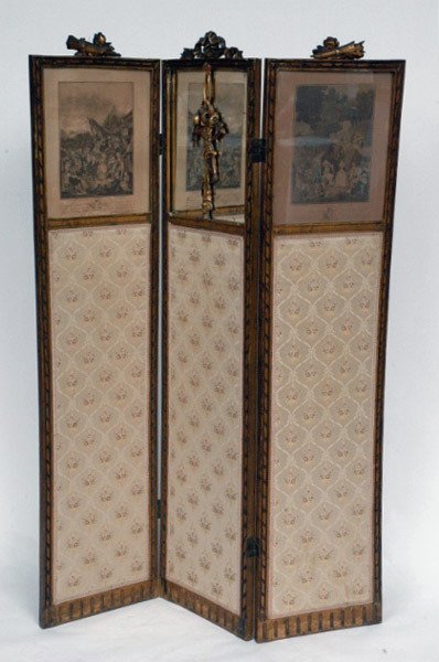 21: Three Panel French Screen,