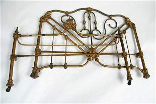 Cast Iron 3/4 Bed