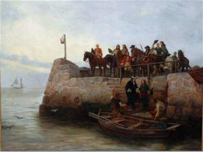 79: Andrew Gow Painting, 19th c.