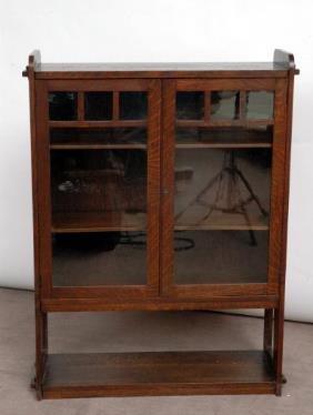 Mission Oak Bookcase