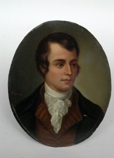 231: Portrait of Burns, 19th c.