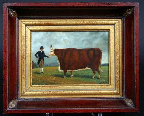 235: Kettinger Cow Painting