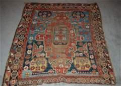 268: Antique Caucasian Rug, 1890's
