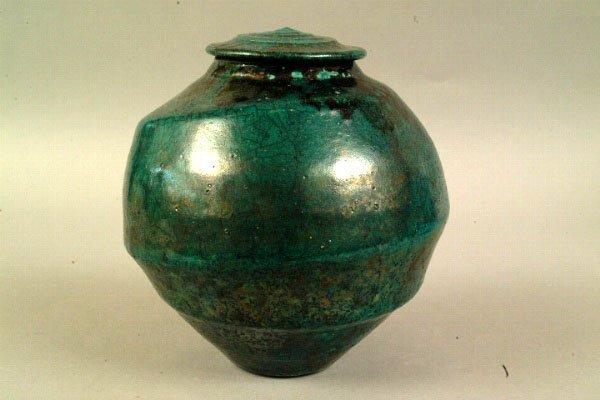 1: Sally Jaffe Covered Jar