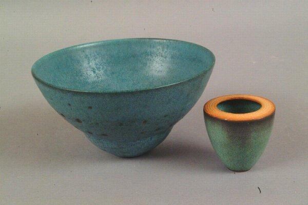 2: Sally Jaffe Pottery Vessel