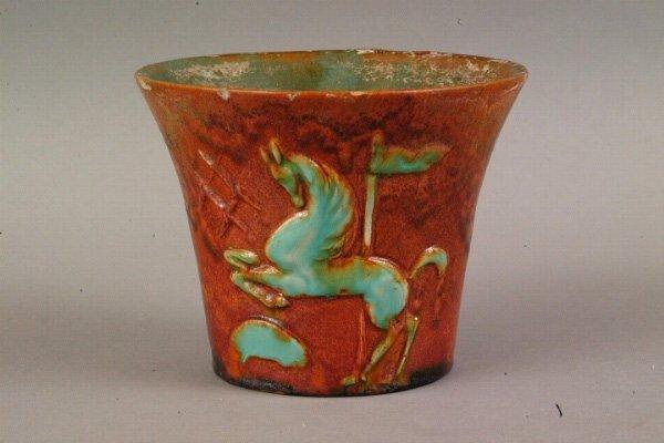 11: German Art Pottery Vessel