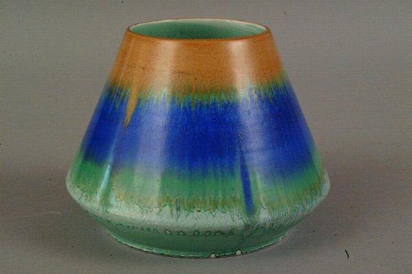 12: Shelley Art Deco Vase, England