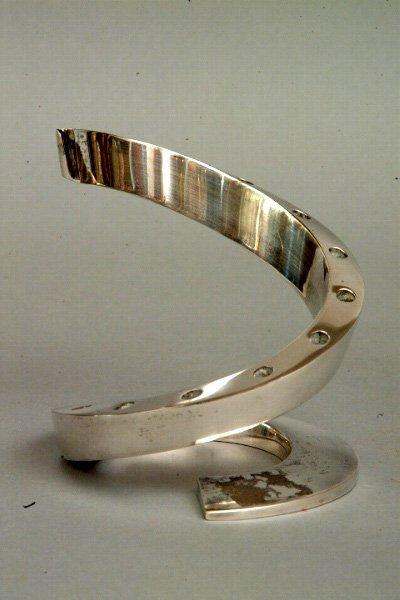20: Dansk Plated Silver Candlestick