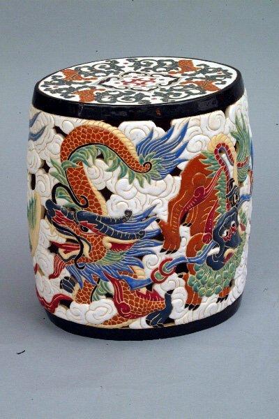 260: Chinese Ceramic Garden Seat