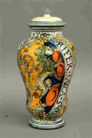 Sbigoli Pottery Jar, Florence, Italy
