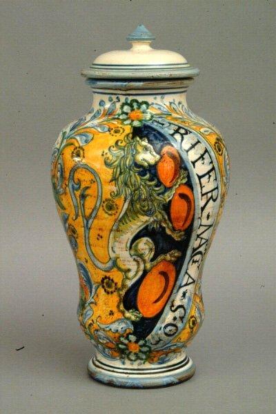 264: Sbigoli Pottery Jar, Florence, Italy