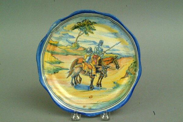 276: Talavera Don Quixote Plate