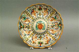 Italian Faience Dish, 19th c.