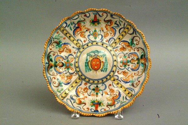 279: Italian Faience  Dish, 19th c.