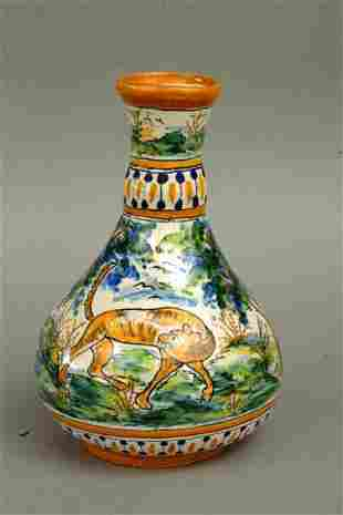 Spanish Talavera Vase