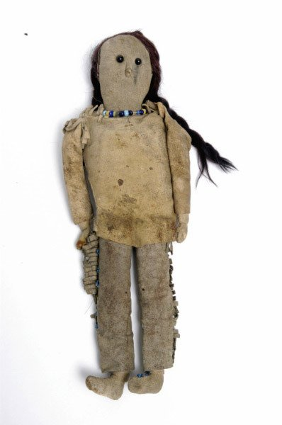 20: Native American Doll, late 19thc