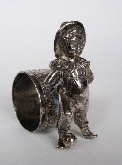 32: Victorian Figural Napkin Ring