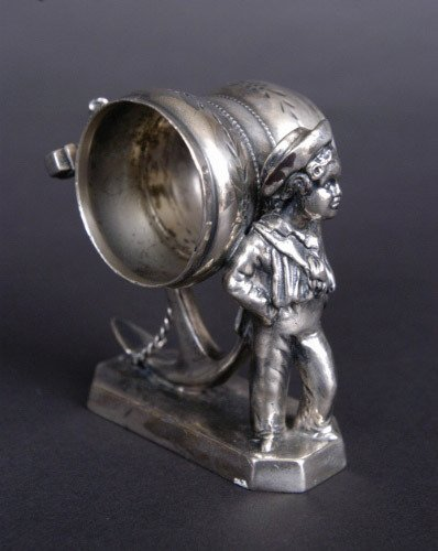 36: Victorian Figural Napkin Ring