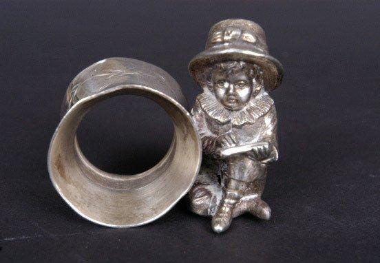 38: Victorian Figural Napkin Ring