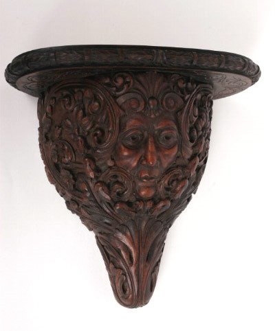 10: French Figural Wall Bracket