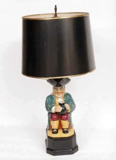 18: Whimsical Toby Jug Lamp