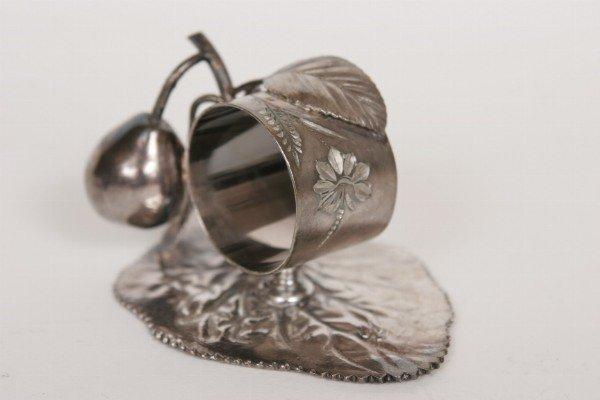 41: Victorian Figural Napkin Ring