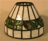 239: Bigelow & Kennard Leaded Glass Lamp Shade