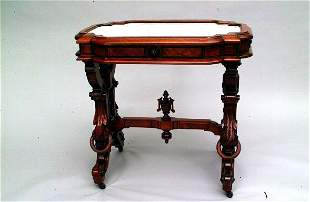 Victorian Marble Top Hall Table