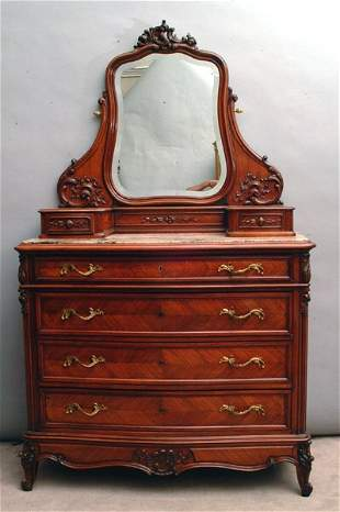 French Rococco Style Dresser, circa 1900