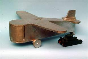 Primitive Transport Style Plane