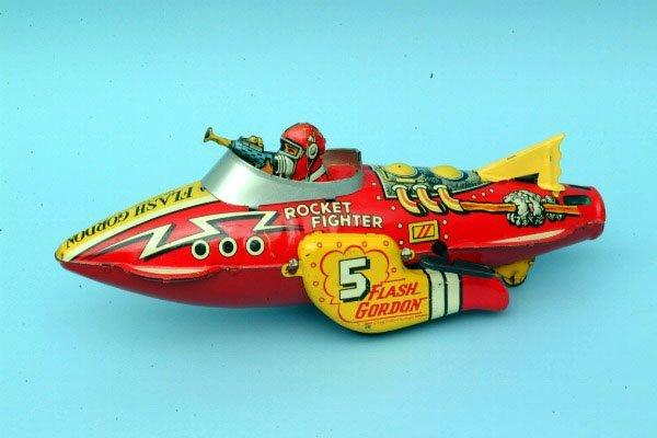 241: Marx Flash Gordon Rocket #5