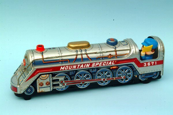 244: Mountain Special Locomotive