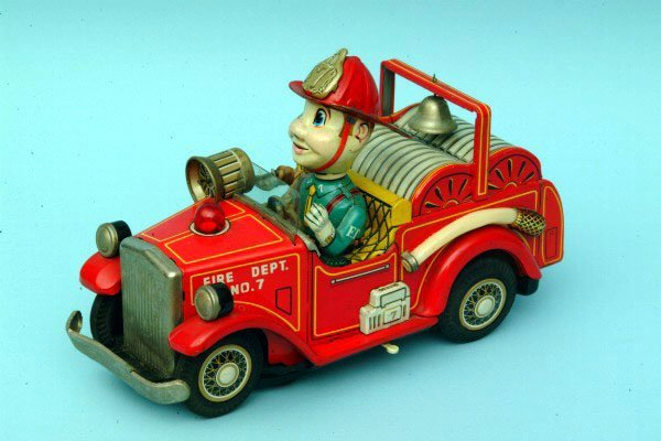 245: Battery Operated Fire Engine 7