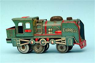 Japanese Tin Friction Train