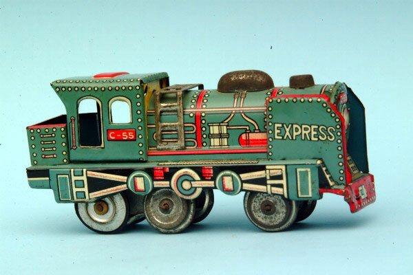 247: Japanese Tin Friction Train
