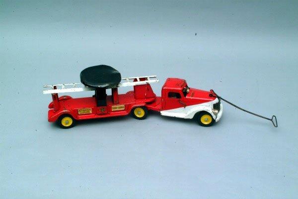 257: Buddy L. Fire Truck #801