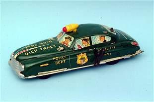 Marx Dick Tracy Squad Car #1
